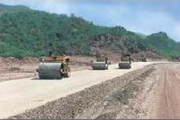 Construction of New Road