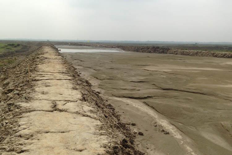 Sand Filling Sylhet Cantonment, Bangladesh Army