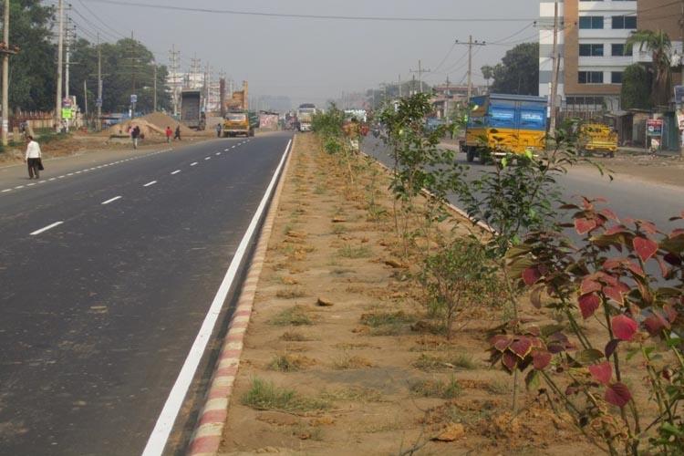 4- Lane Road, Nabinagar