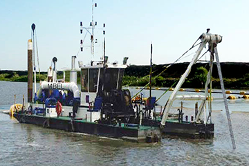 Sand Pump Out Dredger
